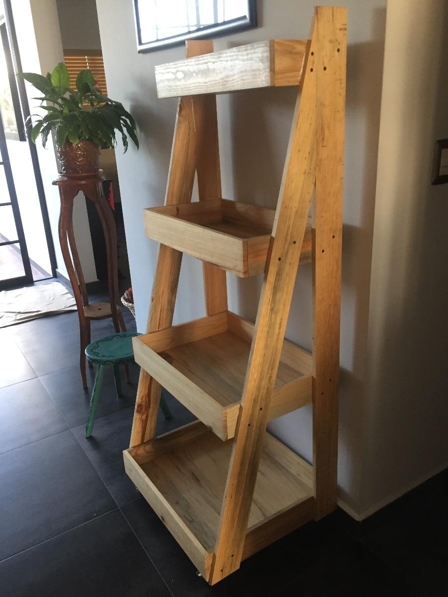 Librero Escalera Estante Anaquel Repisa Madera