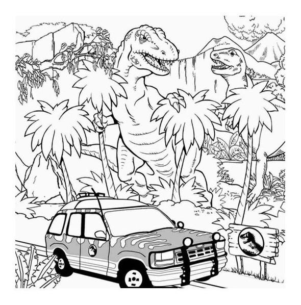 Jurassic world actividades para niños para pintar y dibujar fichas con imagenes 35. √ 1000+ Lego Jurassic World Para Pintar - Imagens para