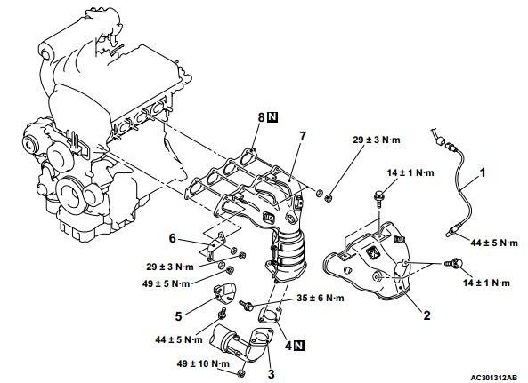 Libro De Taller Mitsubishi Outlander / Airtrek 2003-2006