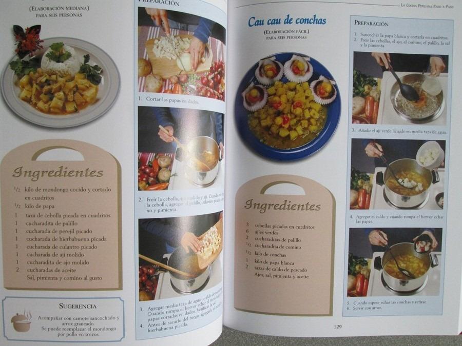 Libro La Cocina Peruana Paso A Paso  Lexus   108000 en