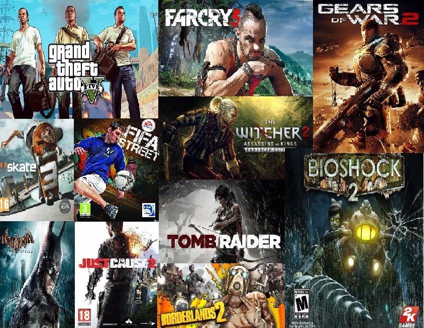 Licencias 28 Juegos Xbox 360 Gta V Gow 2 Bioshock 2etc
