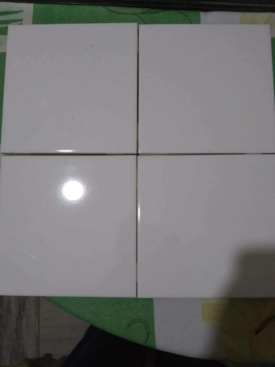 Loseta Azulejo Blanco 15x15 Para Cocina O Bao   2500