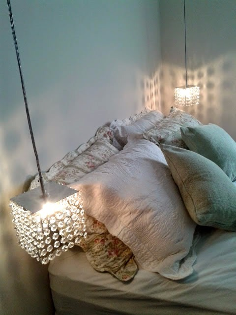 Luminria Pendente Para Sala Estar Jantar Quarto De Cristal  R 8699 em Mercado Livre