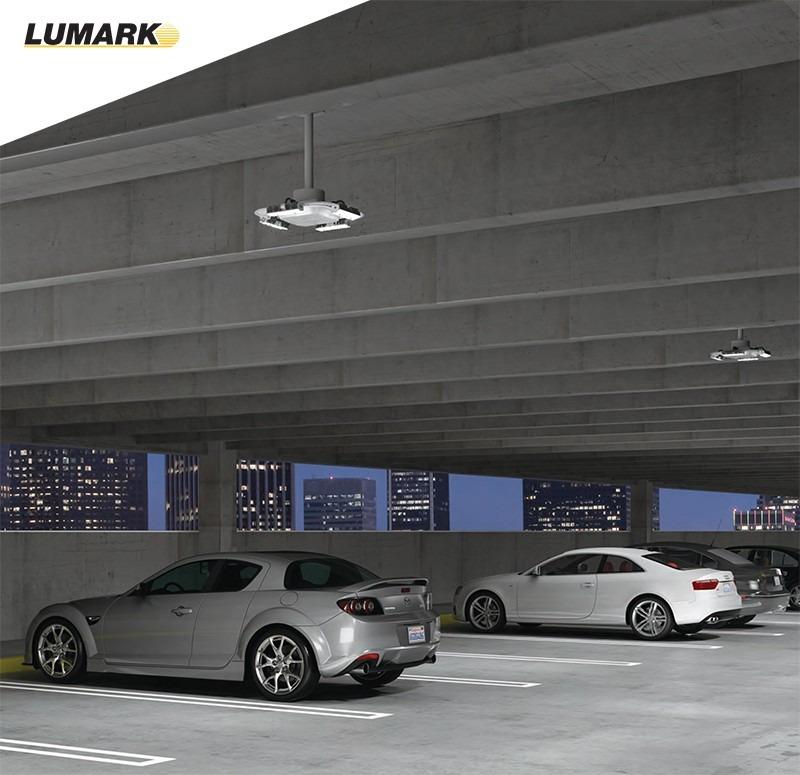 Luminario Estacionamiento Cooper Lighting Qdcast1a