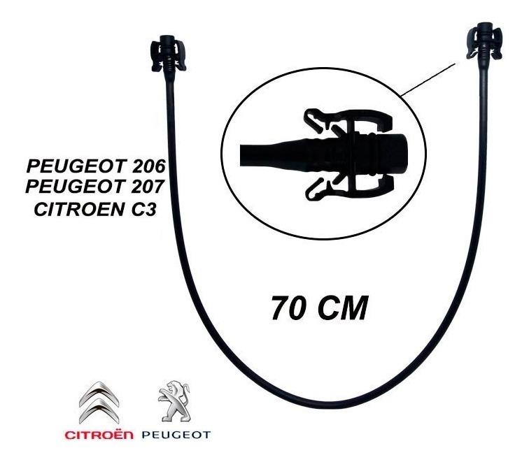 Mangueira Retorno Radiador Peugeot 206 207 1.4 8v 1.6 16v