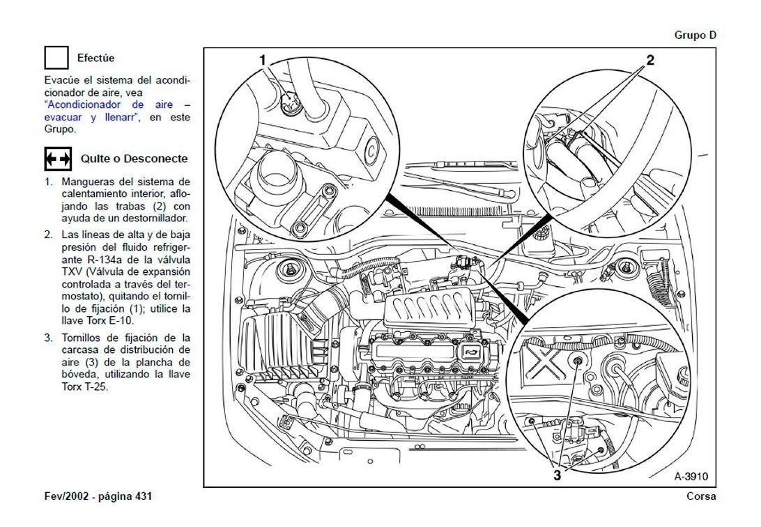 Manual Automotriz Chevrolet Corsa 93-02 Taller Diagramas