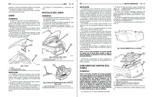Manual Automotriz Chrysler Ptcruiser 01-10 Taller