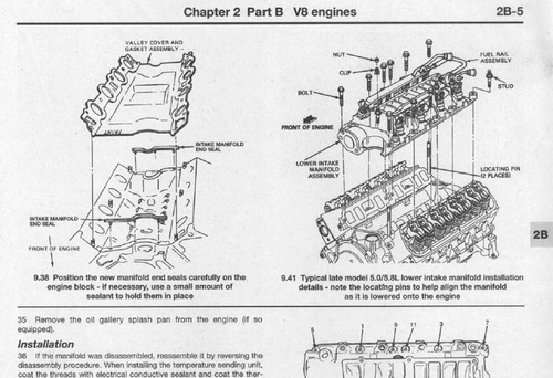 Manual Automotriz Ford F-150/250/350 Taller 80-95 Ingles