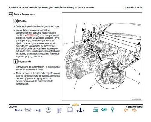 Manual Automotriz Taller Chevrolet Corsa Tornado / Montana