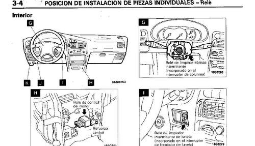 Manual Cableado Electrico Mitsubishi Lancer 94 Al 99 Pdf