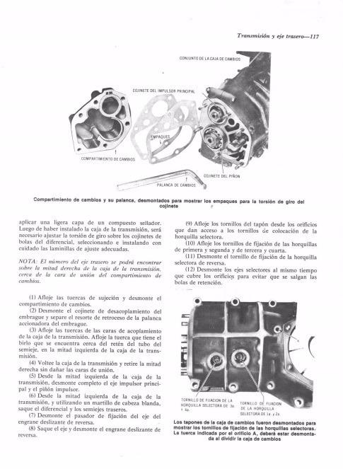 Manual Cecsa De Vw Escarabajo Pdf 1200 1200a 1300 1500