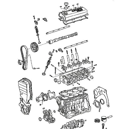 [DIAGRAM] 1996 Daihatsu Charade Manual Electrical Diagram
