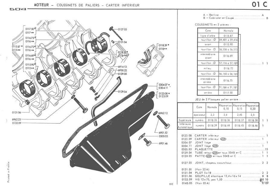Manual De Despiece Peugeot 504, 1970-1998, Envio Gratis