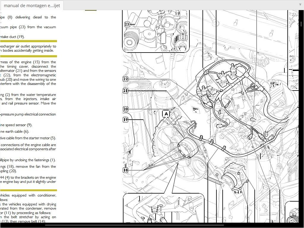 Manual De Montagen E Desmontagen Do Motor Ducato 2.3