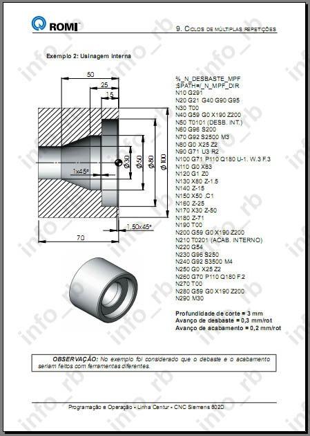 Manual De Programação E Operação Torno Romi Comando 802d