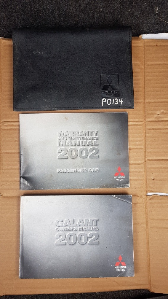 2002 Galant Maintenance