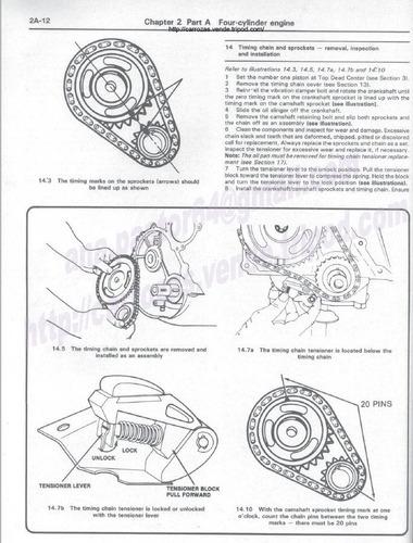 Manual De Reparación Jeep Comanche Cherokee 1984-1996