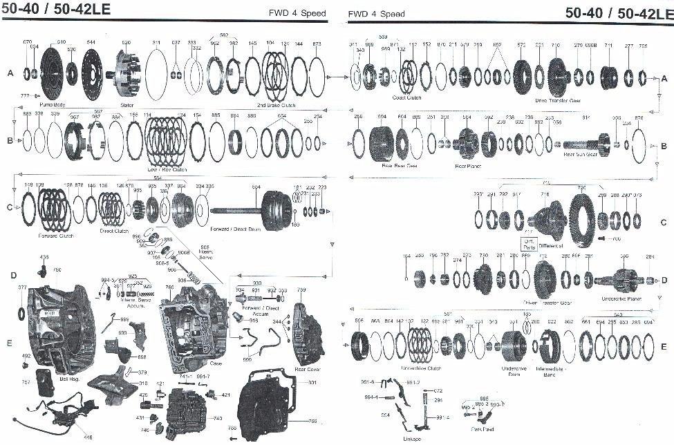 Manual De Reparação Câmbio Aw 50-40le Vectra / Astra