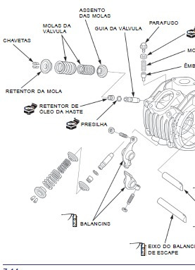 Manual De Serviço Honda Biz 125 Ks / Es Carburad 2006