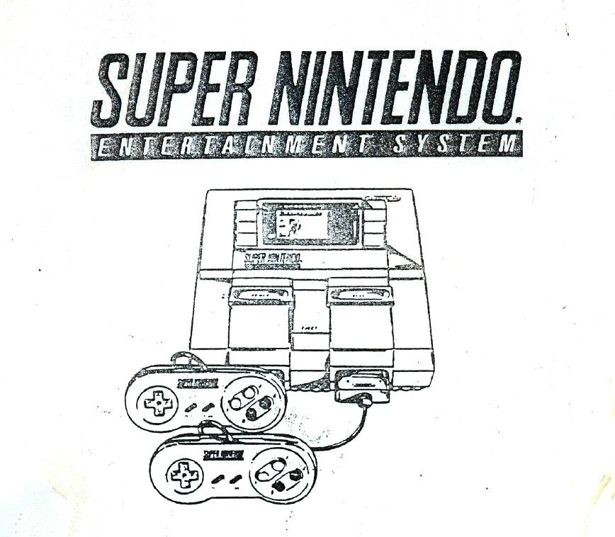 Manual De Serviço Técnico Super Nintendo Nes Snes Esquema