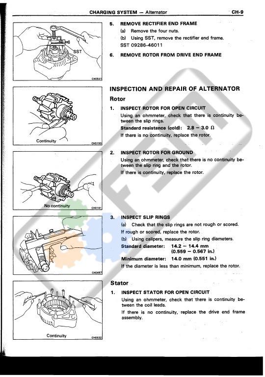Manual De Taller De Motor Toyota Corolla 4af 4afe Ae92 88