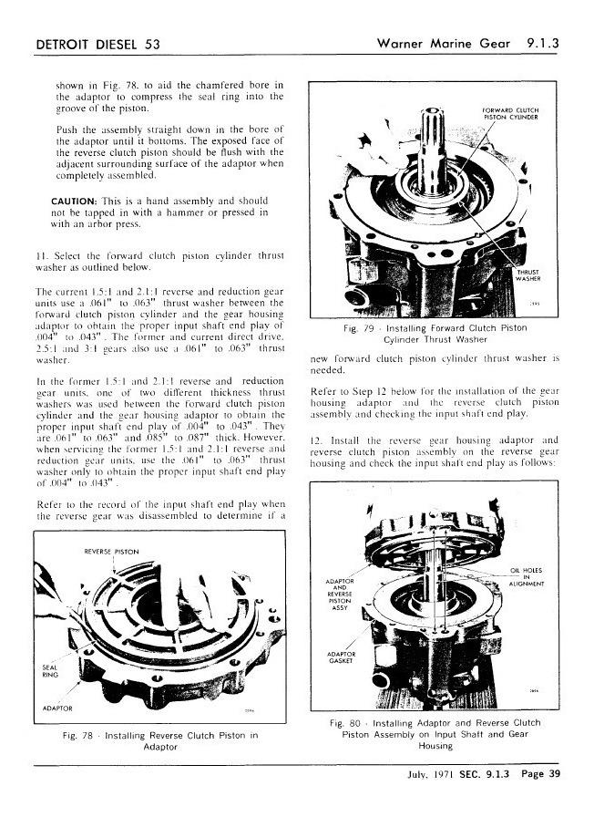 Manual De Taller Reparacion Motor Detroit Diesel Serie 53