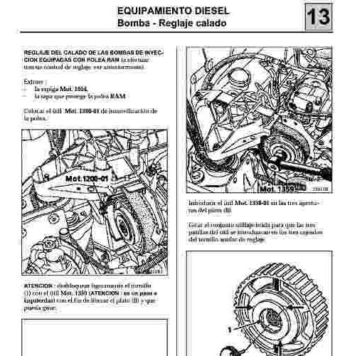 Manual De Taller Servicio Y Diagramas Renault Clio 2