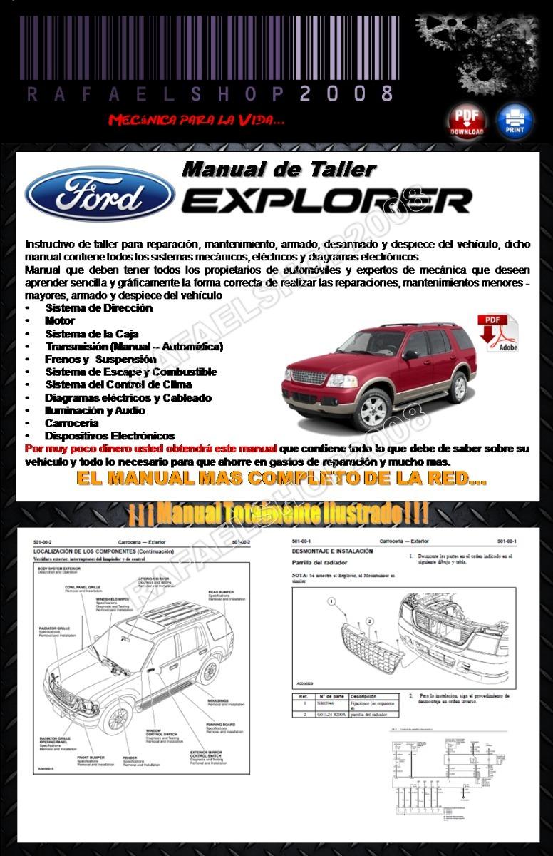 Manual De Ford Explorer 2005