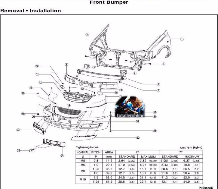 Manual De Taller Y Reparacion Nissan Almera (b-10) 2007