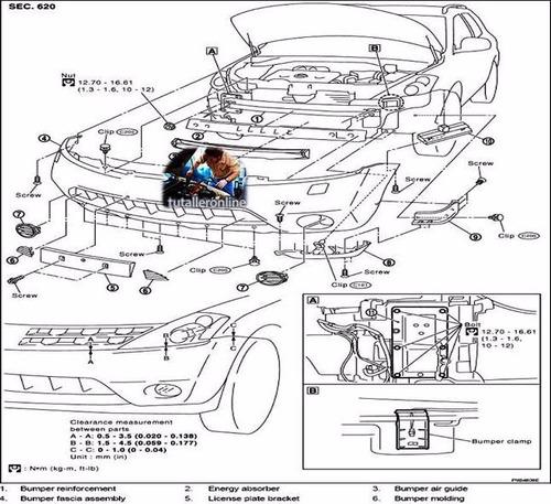 Manual De Taller Y Reparacion Nissan Murano (z-50) 2004