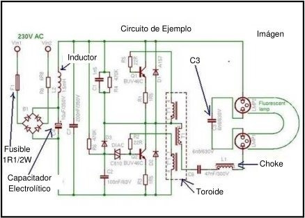 Manual Diagrama Y Video Reparación Bombillos Ahorradores