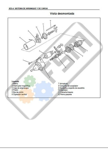 Manual Motor Chevrolet Luv Dmax 2.4 Diagrama Electrico
