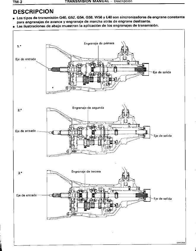 Manual Reparación Transmision Toyota Hilux 4runner 83-97