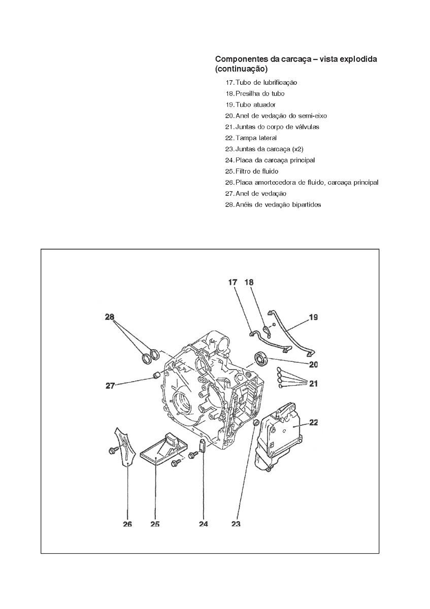 Manual Reparação Câmbio Aw 50-40 Marea Vectra Astra Zafira