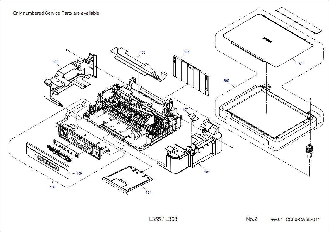 Manual Serviço Epson L350-351-300-355-356-l210-211-l110