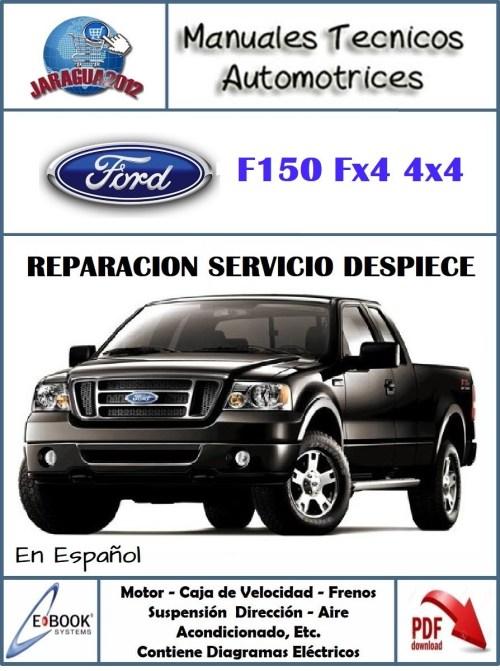 small resolution of manual taller diagramas e ford f 150 fx4 05 2006 espa ol bs 14 000 00 en mercado libre