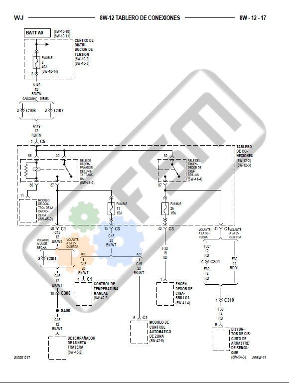Manual Taller Jeep Grand Cherokee Wj Motor 4.0 4.7