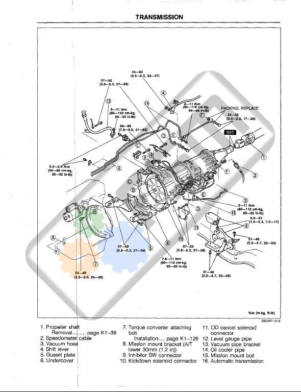 Manual Taller Mazda B Motor B2200 F2 2.2 B2600 G6 2.6 Bt50