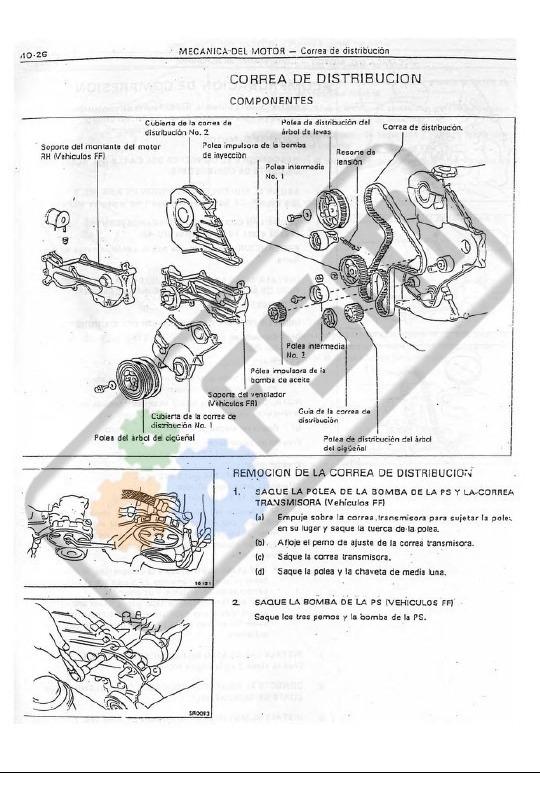 Manual Taller Motor Toyota 1c 2c Diesel Turbo Español 18