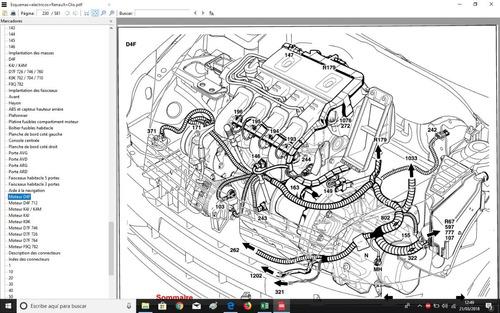Manual Taller Renault Clio Español + Obsequio Diagramas