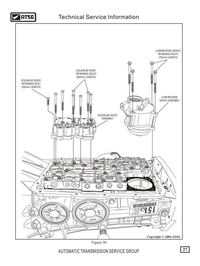 Manual Taller Reparacion Caja Automática Ford Explorer