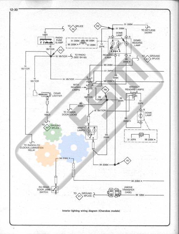 Manual Taller Reparacion Jeep Cherokee Motor 2.5 2.8 4.0
