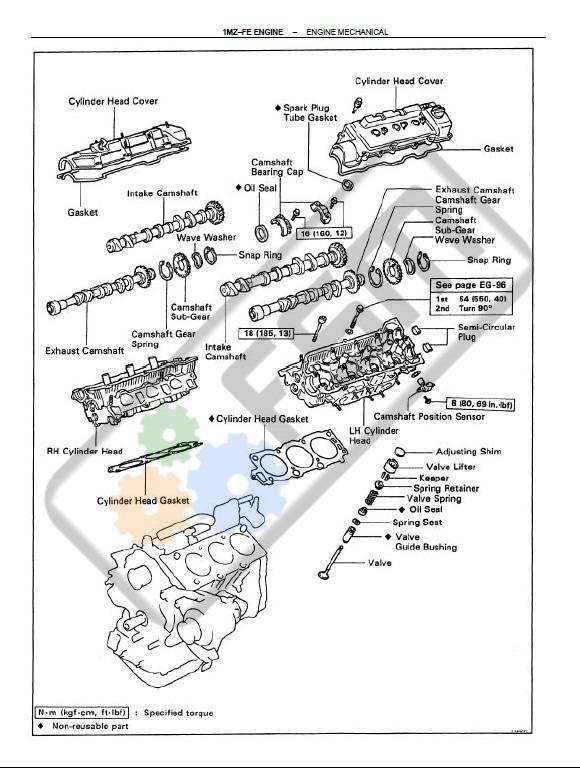 Manual Taller Toyota Camry Diagrama Electrico Motor 2.2 3