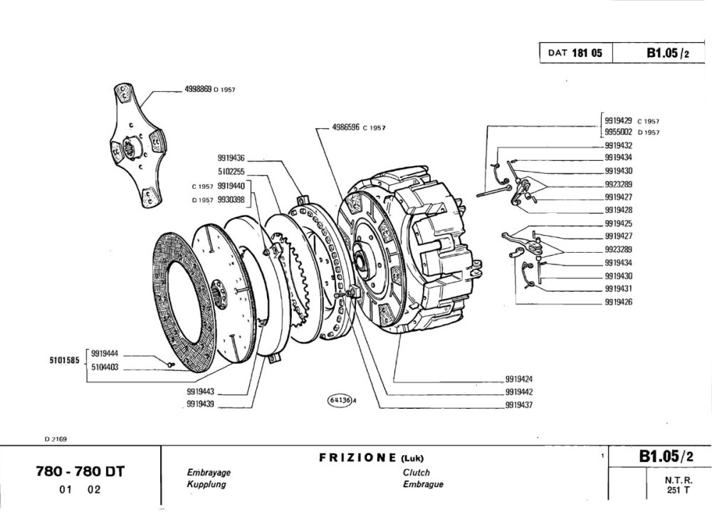 medium resolution of wrg 2562 1973 fiat automotive wiring diagrams fiat 780 wiring diagram