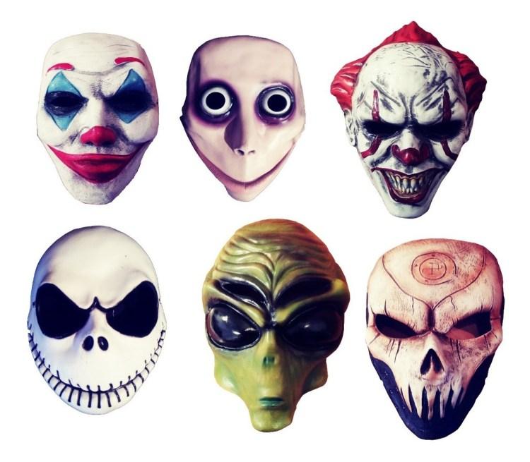 Mascaras Halloween Personajes De Moda Antifas Disfraz Momo - $ 129.00 en  Mercado Libre
