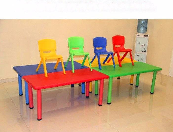 Mesa 120 X 60 Infantil Escolar Nios Polipropileno