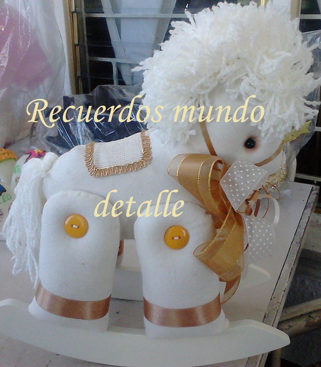 Caballo Caballito Balancin Centro De Mesa Baby Desde 135