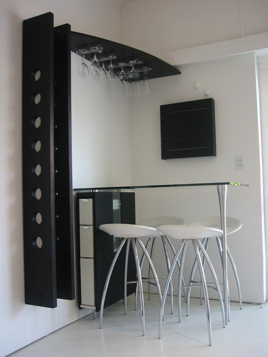Mesa Bar Desayunador Vinoteca Muebles Modernos Lucero