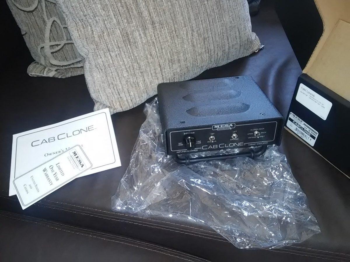 Mesa Boogie Cabclone  Nuevsimo   950000 en Mercado