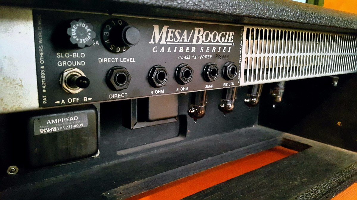 Mesa Boogie Caliber 50impecable Con Fundamarshallorange